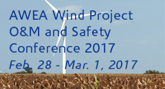 AWEA Wind Project O&M and Safety Conference 2017
