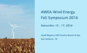 News for AWEA Fall Symposium