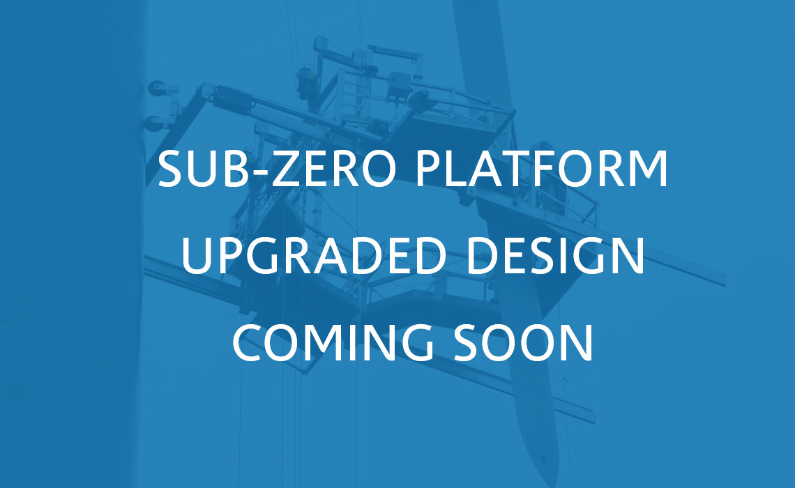 New upgraded sub-zero platform