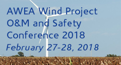 AWEA Wind Project O&M and Safety Conference 2018